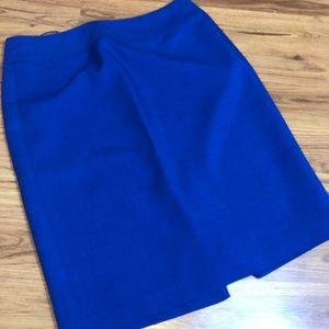 Jones Studio - Blue Pencil Skirt
